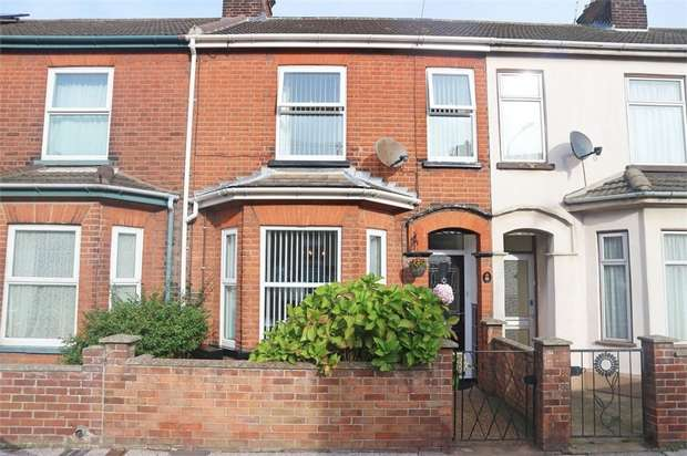 3 Bedrooms Terraced House for sale in St Margarets Road, Lowestoft, Suffolk