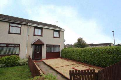 2 Bedrooms End Of Terrace House for sale in Kilearn Way, Paisley, Renfrewshire