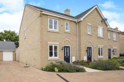 3 Bedrooms Terraced House for sale in Off Richmond Road, Downham Market, Norfolk