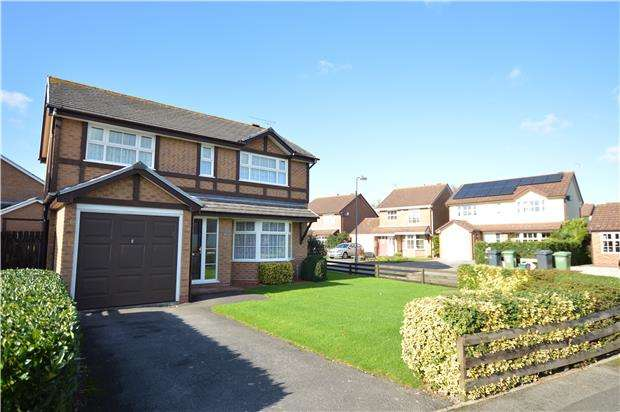 4 Bedrooms Detached House for sale in Hudson Close, Yate, BRISTOL, BS37 4NP