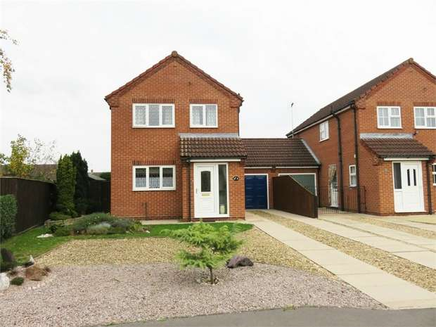 3 Bedrooms Semi Detached House for sale in Hoekman Way, Spalding, Lincolnshire