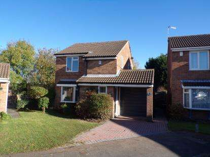 3 Bedrooms Detached House for sale in Primula Close, Barton Green, Nottingham, Nottinghamshire