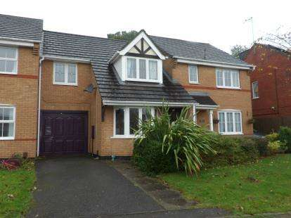 3 Bedrooms Terraced House for sale in Derrys Hollow, Ellistown, Coalville