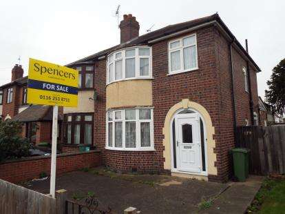 3 Bedrooms Semi Detached House for sale in Narborough Road South, Leicester, Leicestershire