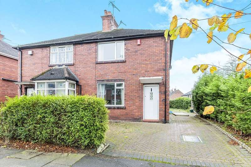 2 Bedrooms Semi Detached House for sale in Haslemere Avenue, Stoke-On-Trent, ST2
