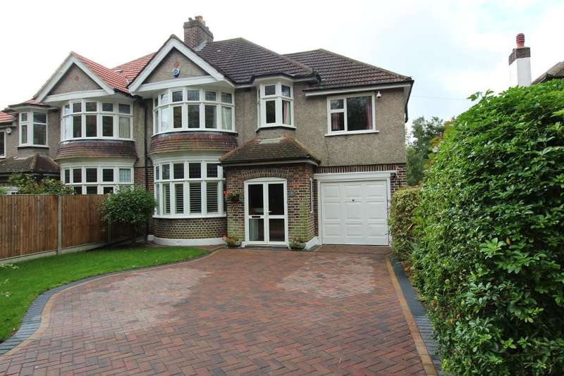 4 Bedrooms Semi Detached House for sale in Goddington Lane, Orpington, Kent, BR6 9DY