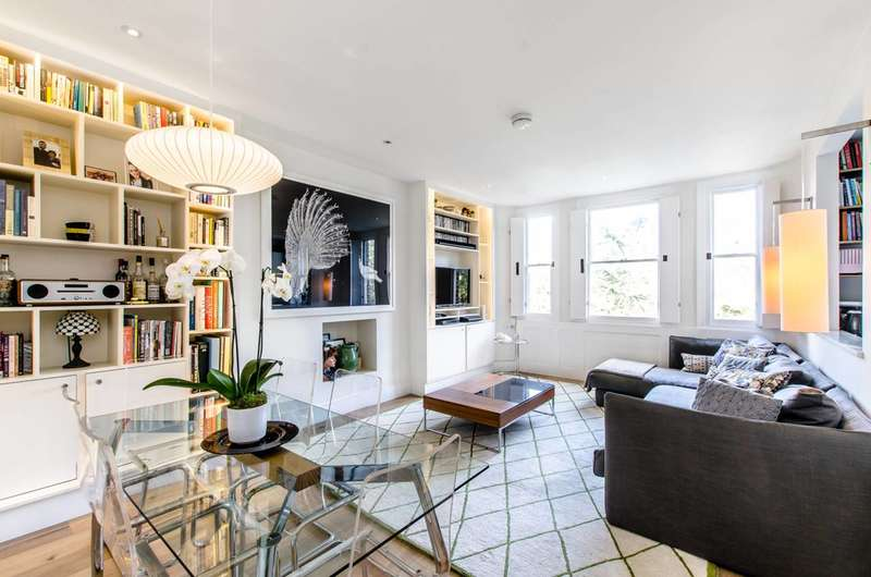 3 Bedrooms Flat for sale in Elsworthy Road, Primrose Hill, NW3