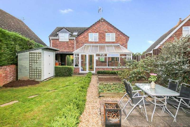 4 Bedrooms Detached House for sale in Foldgate View, Ludlow
