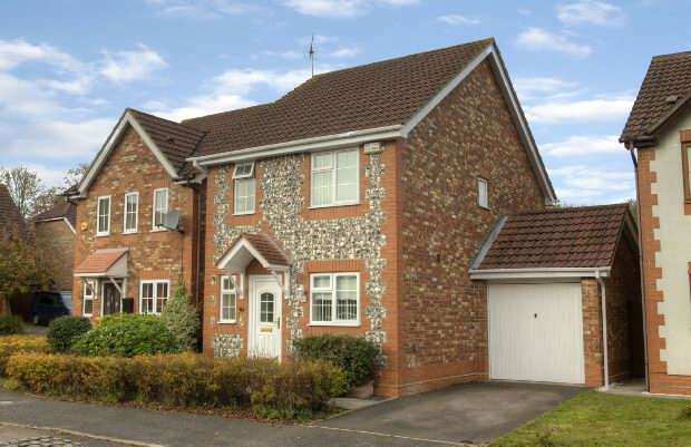 3 Bedrooms Detached House for sale in Moorhen Drive, Lower Earley, Reading,
