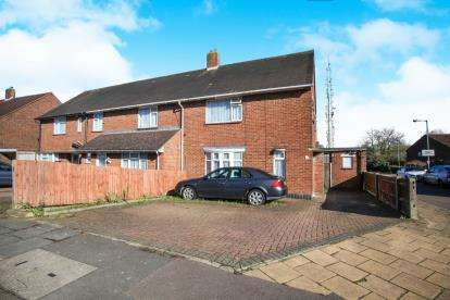 3 Bedrooms Semi Detached House for sale in Felmersham Road, Luton, Bedfordshire