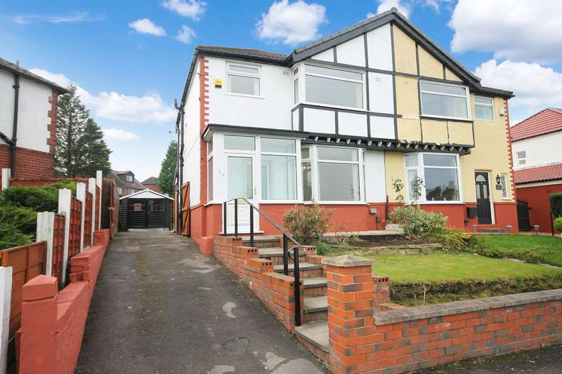 3 Bedrooms Semi Detached House for sale in Briarfield Road, Farnworth, Bolton, BL4 0HD