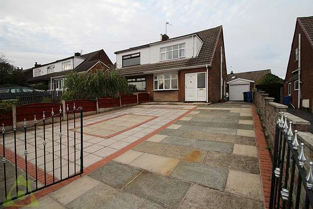 3 Bedrooms Semi Detached House for sale in Hollins Road, Hindley Green WN2