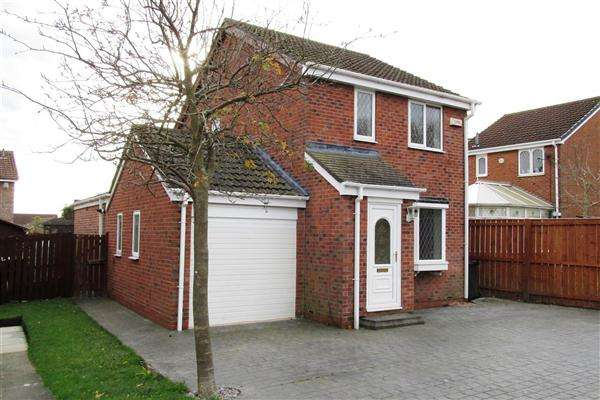 4 Bedrooms Detached House for sale in Apple Close, Newcastle upon Tyne