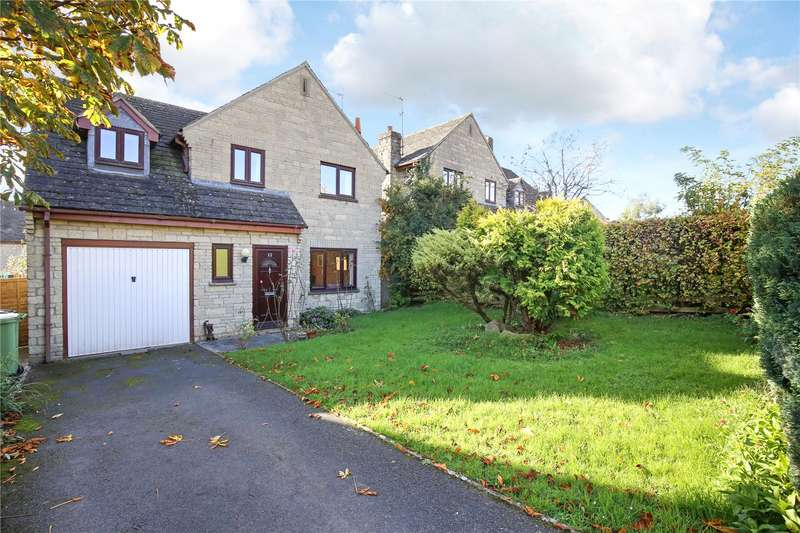 4 Bedrooms Detached House for sale in Nostle Road, Northleach, Cheltenham, GL54