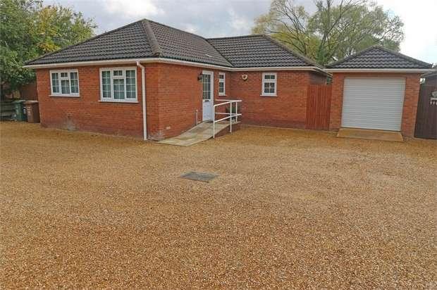 3 Bedrooms Detached Bungalow for sale in Chapnall Road, Wisbech, Norfolk