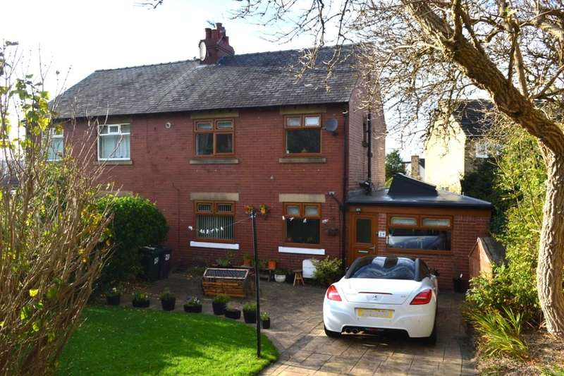 3 Bedrooms Semi Detached House for sale in Lascelles Hall Road, Lascelles Hall, Huddersfield, HD5