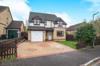 4 Bedrooms Detached House for sale in The Belfry, Luton, Bedfordshire