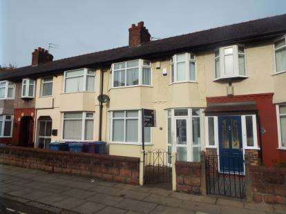 3 Bedrooms Terraced House for sale in Eastcliffe Road, Liverpool, Merseyside, England, L13