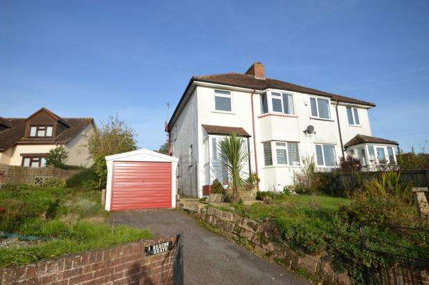 3 Bedrooms Semi Detached House for sale in Beacon Heath, Exeter, Devon