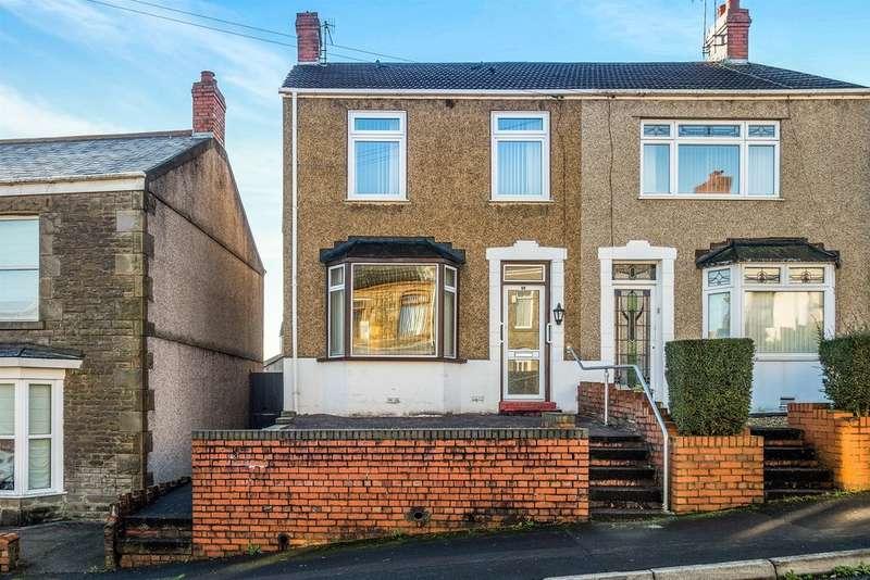 3 Bedrooms Semi Detached House for sale in Crown Street, Morriston, Swansea