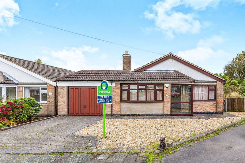 2 Bedrooms Detached Bungalow for sale in Cavendish Crescent, Hugglescote, Coalville, LE67