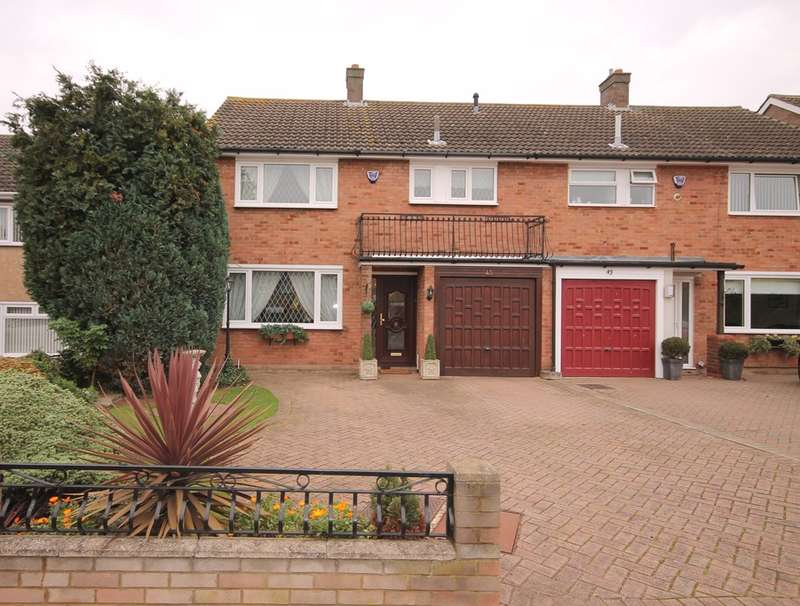 3 Bedrooms Semi Detached House for sale in Haylands Way, Putnoe, MK41