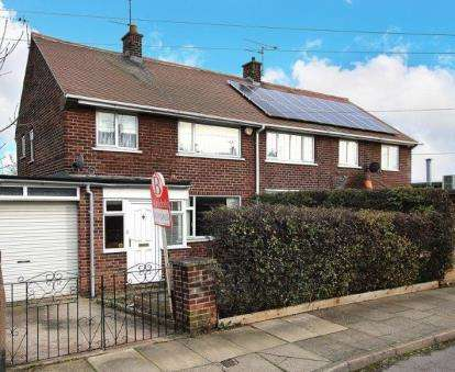 3 Bedrooms Semi Detached House for sale in Beevers Road, Rotherham, South Yorkshire