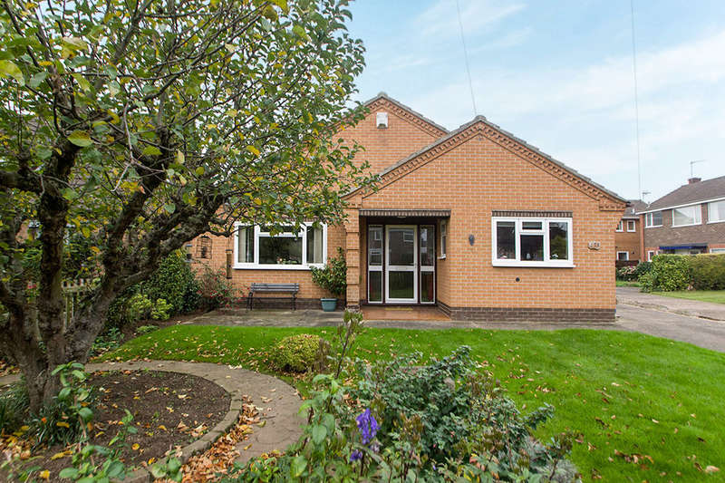 2 Bedrooms Detached Bungalow for sale in Rutland Avenue, Toton, Nottingham, NG9