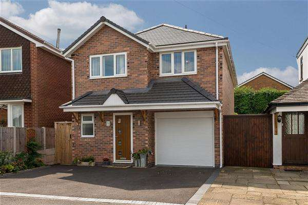 4 Bedrooms Detached House for sale in Marston Road, Wheaton Aston, Stafford