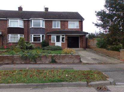 4 Bedrooms Semi Detached House for sale in Mallard Hill, Bedford, Bedfordshire