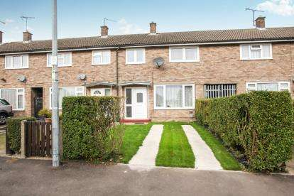 3 Bedrooms Terraced House for sale in Churchfield Road, Houghton Regis, Dunstable, Bedfordshire