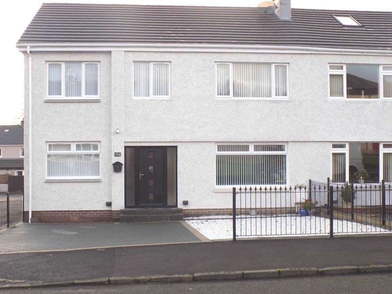 5 Bedrooms Semi Detached House for sale in Banchory Avenue,Inchinnan, Renfrew,Renfrewshire,PA4 9