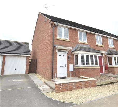 3 Bedrooms End Of Terrace House for sale in Digby Green, Kingsway, Quedgeley, Gloucester, GL2 2BW