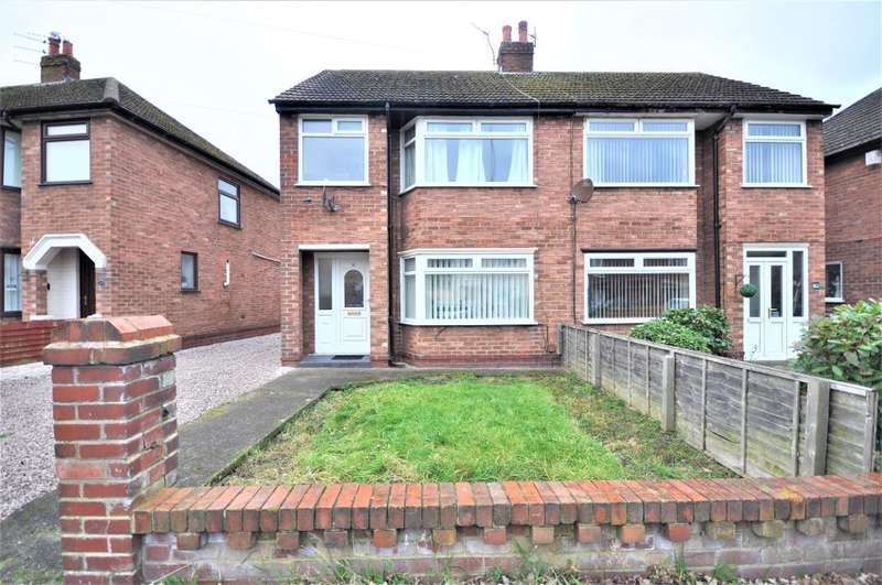 3 Bedrooms Semi Detached House for sale in Bangor Avenue, Bispham, Blackpool, Lancashire, FY2 0HY