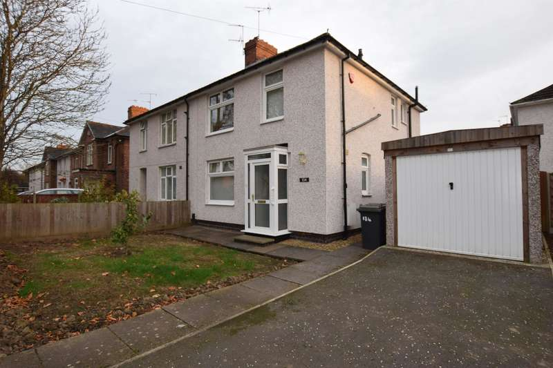 3 Bedrooms Semi Detached House for sale in Hallam Crescent East, Leicester, LE3 1FE