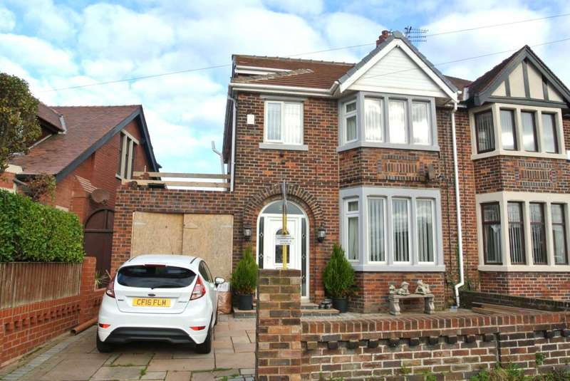 3 Bedrooms Semi Detached House for sale in Park Road, Blackpool, FY1 6QT