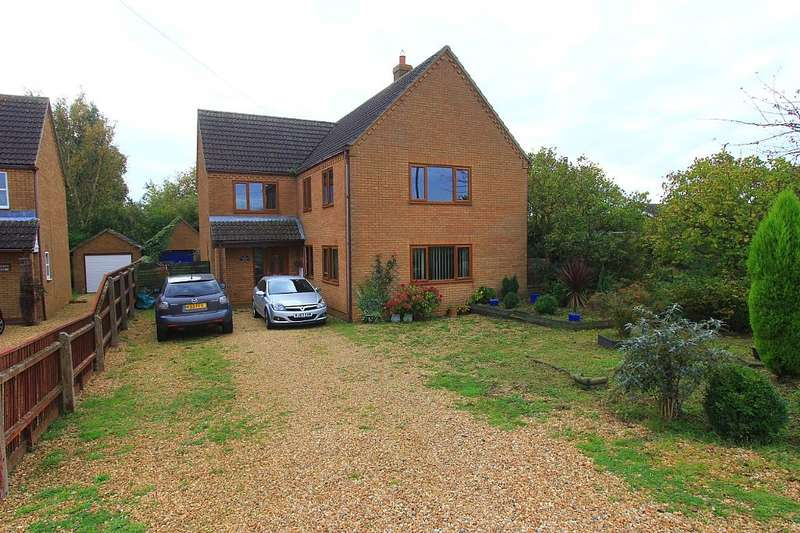 4 Bedrooms Detached House for sale in Dowsdale Bank, Shepeau Stow, Spalding, Lincolnshire, PE12 0TX