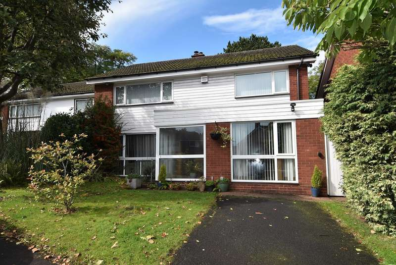 4 Bedrooms Detached House for sale in Selly Close, Selly Park, Birmingham, B29