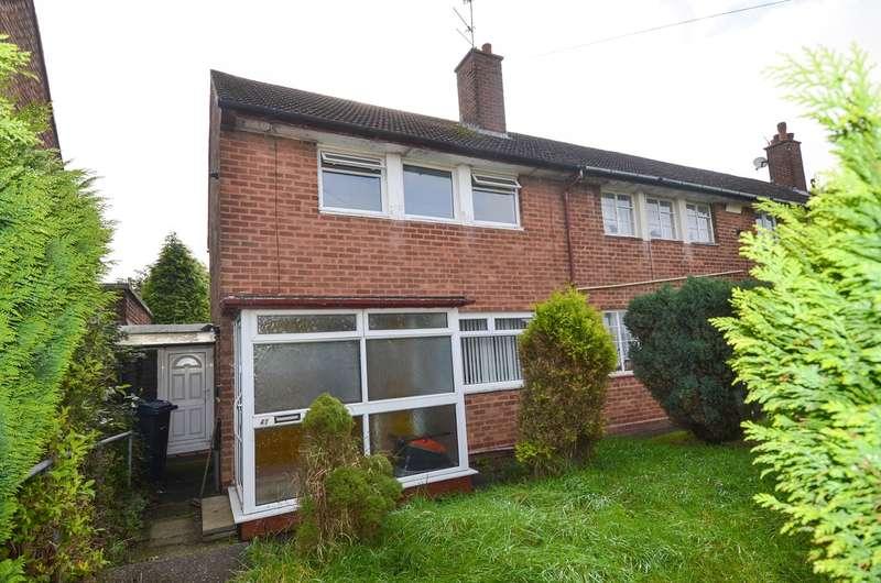 2 Bedrooms End Of Terrace House for sale in Kernthorpe Road, Kings Heath , Birmingham, B14
