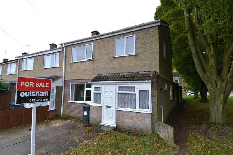 3 Bedrooms End Of Terrace House for sale in Amroth Close, Rednal, Birmingham, B45