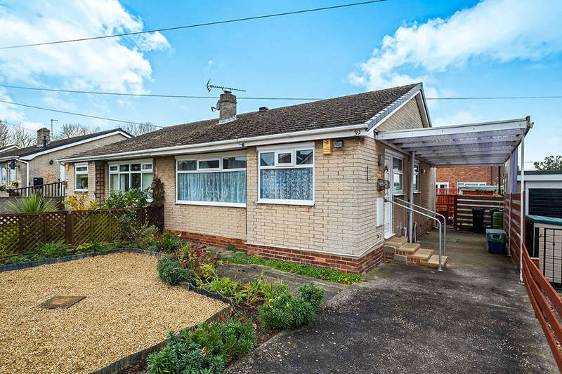 2 Bedrooms Semi Detached Bungalow for sale in Wellington Avenue, North Anston, Sheffield, S25