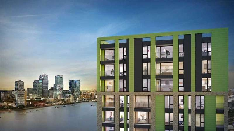 1 Bedroom Apartment Flat for sale in Precision, Greenwich, London