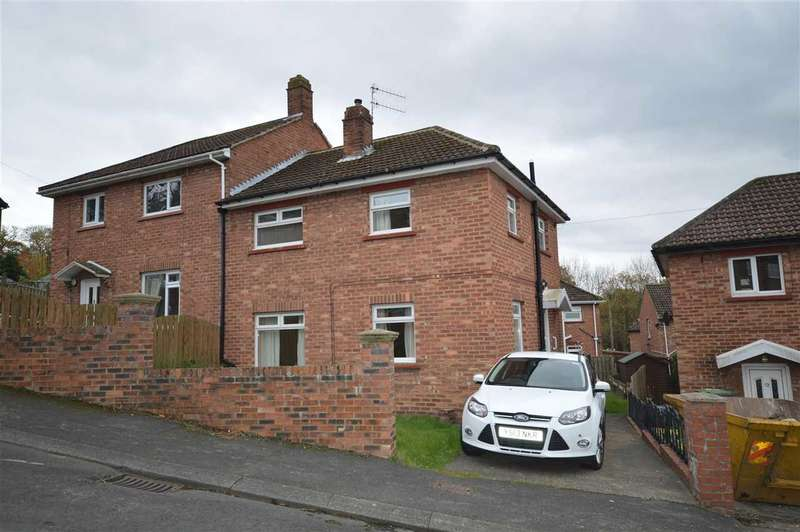 3 Bedrooms Semi Detached House for sale in Hadrians Way, Ebchester, Consett