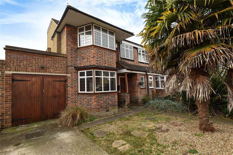 4 Bedrooms Semi Detached House for sale in Cannonbury Avenue, Pinner, Middlesex, HA5