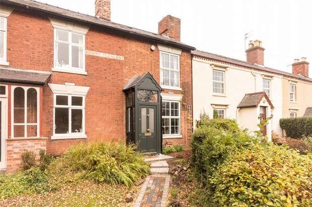 1 Bedroom Cottage House for sale in Mount Pleasant, Trent Valley Road, Lichfield, Staffordshire