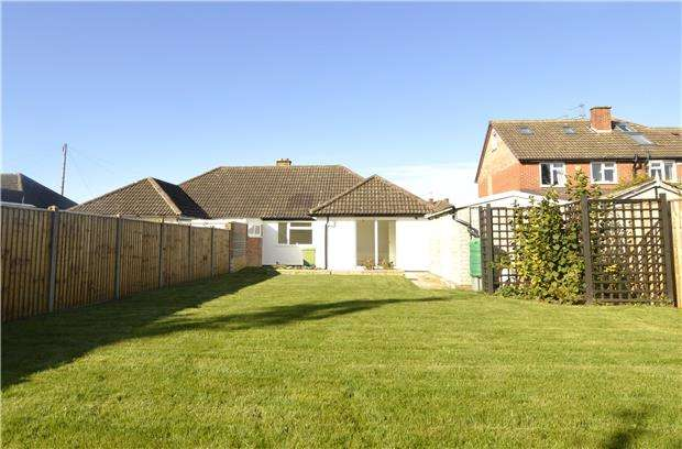 3 Bedrooms Semi Detached Bungalow for sale in Langdale Road, CHELTENHAM, Gloucestershire, GL51 3LY
