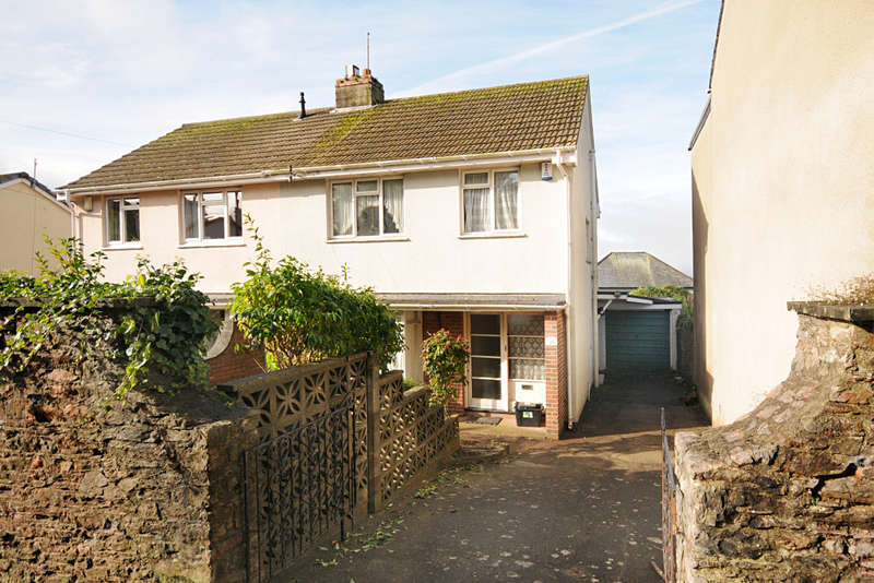 3 Bedrooms Semi Detached House for sale in Church Road, St. Marychurch, Torquay