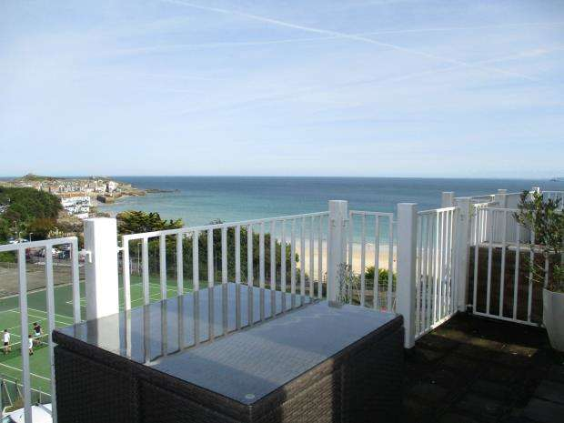 2 Bedrooms Flat for sale in Primrose Court, Primrose Valley, St. Ives, Cornwall