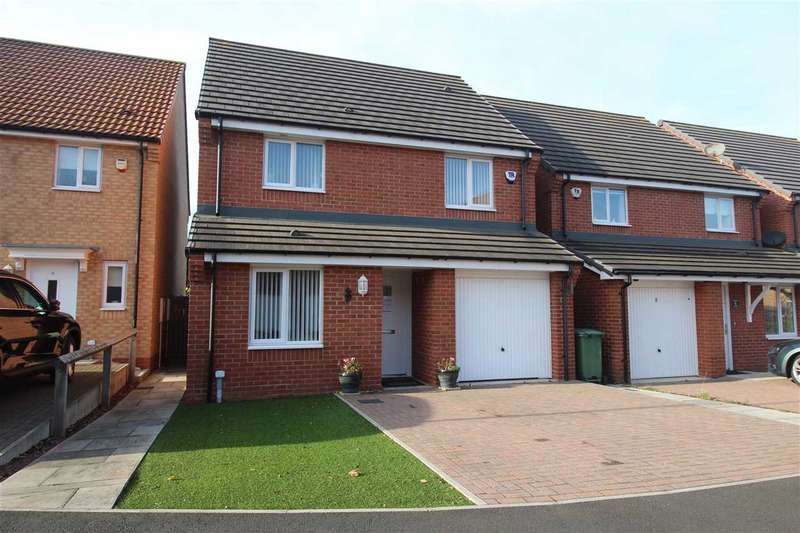 3 Bedrooms Detached House for sale in Alexandra Chase, Cramlington
