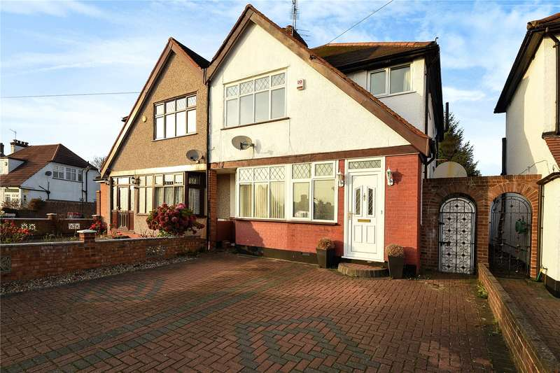3 Bedrooms Semi Detached House for sale in Hillcroft Avenue, Pinner, Middlesex, HA5